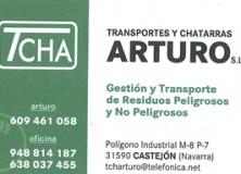 TRANSPORTES Y CHATARRAS ARTURO S.L.