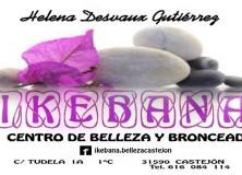 """HELENA DESVAUX GUTIÉRREZ """"IKEBANA: CENTRO DE BELLEZA Y BRONCEADO"""""""