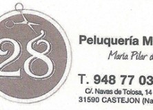 PELUQUERÍA MIXTA 28 Mª PILAR DEL RIO