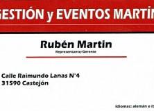 GESTIÓN Y EVENTOS MARTÍN