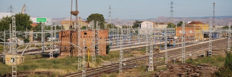 Fotografía de las vias del tren