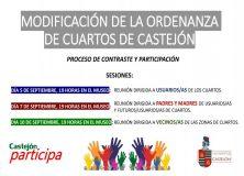 CASTEJÓN PARTICIPA. Modificación Ordenanza de Cuartos de Castejón.