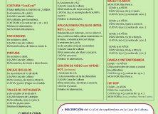 Cursos 2018-19. Ayuntamiento de Castejón