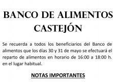 Banco de alimentos Castejón