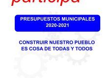 III Proceso de Participación ciudadana sobre los Presupuestos Generales 2020-21 del Ayto. de Castejón