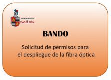 BANDO: Solicitud de permisos para despliegue de fibra óptica